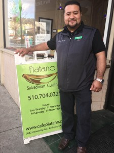 Cafe Platano and Civicorps Recycling